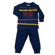 Fun2wear jongens pyjama 'Do not disturb' marine